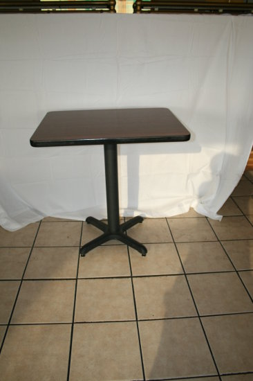 Restaurant quality pedestal Small Wooden Tables