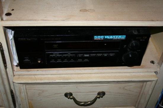 RCA 500 W Tuner