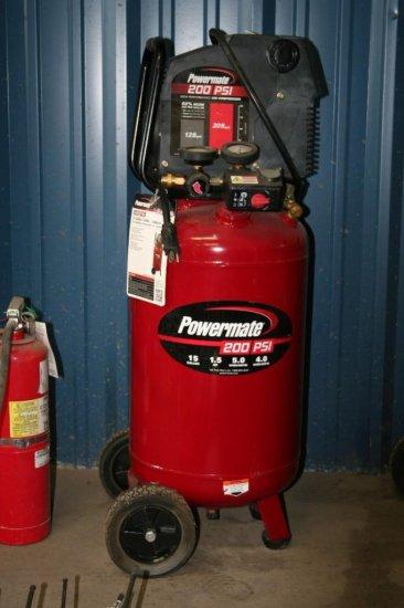 Pro Force 15 Gal 200 PSI Compressor