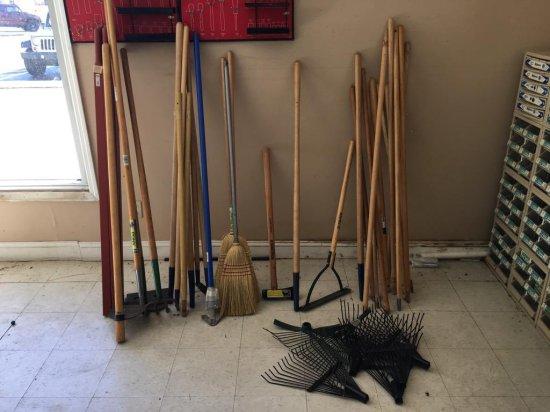 Yard tools and handles