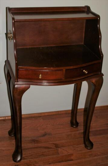 Mahogany Bedside Table
