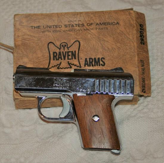 25 Caliber- Raven Arms