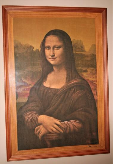 """""""Mona Lisa"""" Framed Print"""