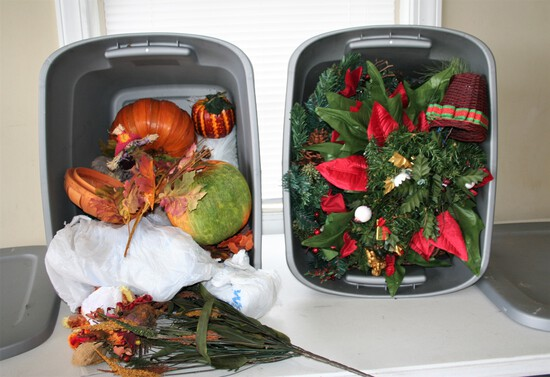 Thanksgiving and Christmas Décor