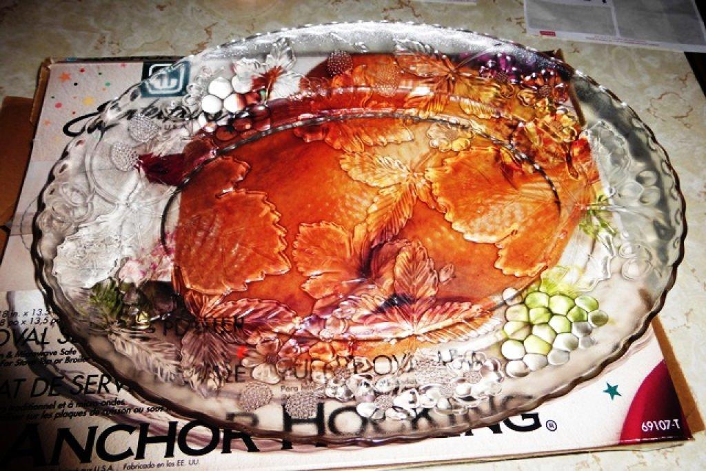 Nice Anchor Hocking Turkey platter