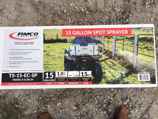 NEW 15 GALLON SPRAYER