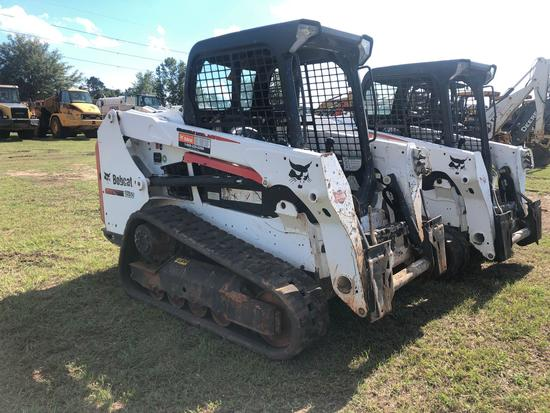 2015 BOBCAT T550 MULTI TERRAIN LOADER | Heavy Construction