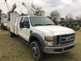 2009 FORD F-550 XLT SUPER DUTY SERVICE TRUCK