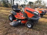 NEW 2015 HUSQVARNA RIDE ON LAWN MOWER