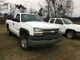 2005 CHEVY 2500HD PICKUP