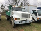 1996 INTERNATIONAL 4700 SINGLE AXLE DUMP TRUCk