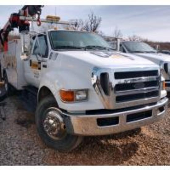 THOMPSON TRUCK FLEET & EAGLE TRUCK RENTAL AUCTION