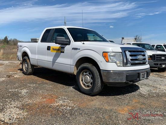 2009 FORD F150 XLT 4X4 TRUCK