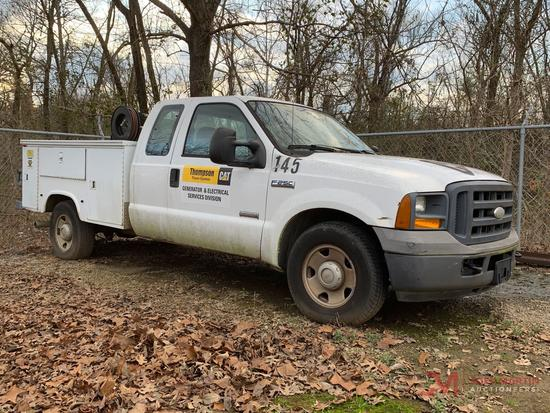 2005 FORD F250 XL SUPER DUTY