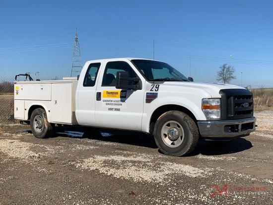 2008 FORD F350 XL SUPER DUTY
