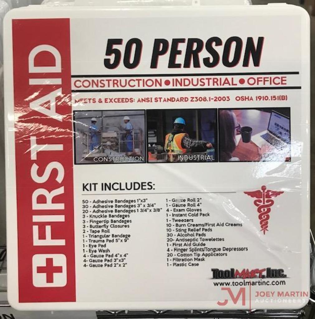 50 PERSON FIRST AID KIT