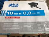 BLUE HAWK 10 CU FT DUMP CART