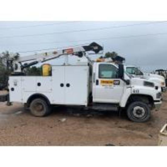 THOMPSON SERVICE TRUCK & WEST GA EQUIPMENT AUCTION