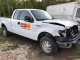 2012 FORD F-150 XL 4X4 ***FRONT-END DAMAGE***