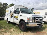 2009 FORD E-350 SERVICE VAN