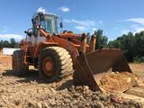 1999 HALLA HA380E RUBBER TIRE LOADER