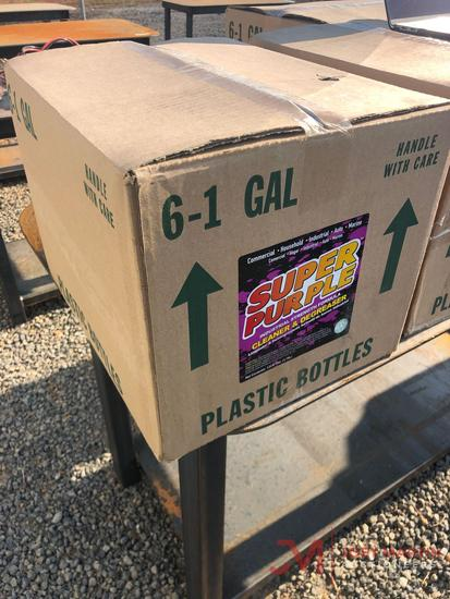 (6) 1 GALLON SUPER PURPLE CLEANER/DEGREASER