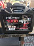 PRO START 1000 HEAVY DUTY JUMPER CABLES, PLASTIC CASE, 1GA, 25'