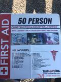 NEW 50 PERSON FIRST AID KIT