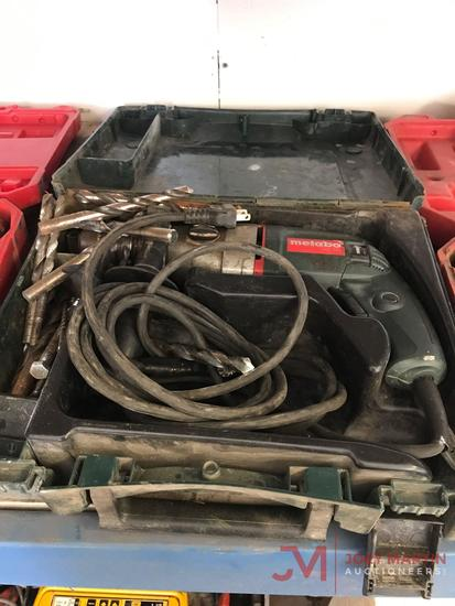 METABO ELECTRIC DRILL, HAND HELD W/CASE