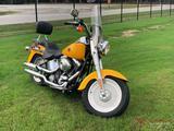 2000 HARLEY DAVIDSON FATBOY...MOTORCYCLE