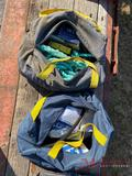 (2) BAGS, SALA SAFETY HARNESS
