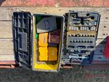 (3)BOXES OF VARIOUS DRILL BITS, BIT ENDS, SOCKET SETS