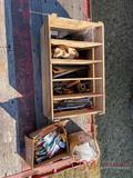 (3) BOXES OF WRENCHES AND TOOLS