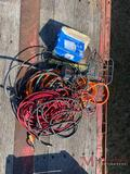 NUMEROUS ELECTRIC CORDS AND LIGHT