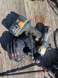 RYOBI BATTERY POWERED DRILL, BATTERY AND CHARGER