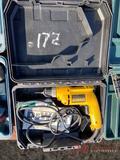 DEWALT ELECTRIC DRILL W/CASE
