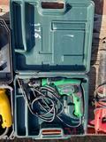 HITACHI ELECTRIC DRILL W/CASE