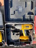 DEWALT BATTERY POWERED IMPACT W/CASE (NO BATTERY OR CHARGER)