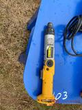 DEWALT BATTERY POWERED ANGLE DRILL (NO BATTERY)