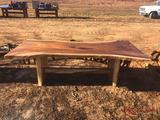 4'x8' SOLID WOOD TABLE