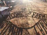 10' WELCOME TO THE FARM SIGN