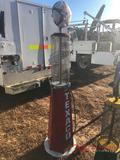 TEXACO METAL GAS PUMP