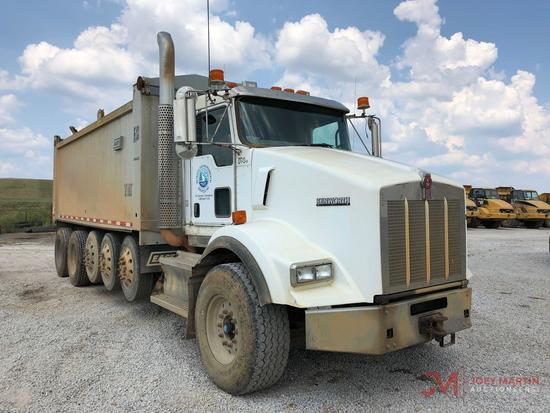 2009 KENWORTH FIVE AXLE DUMP TRUCK