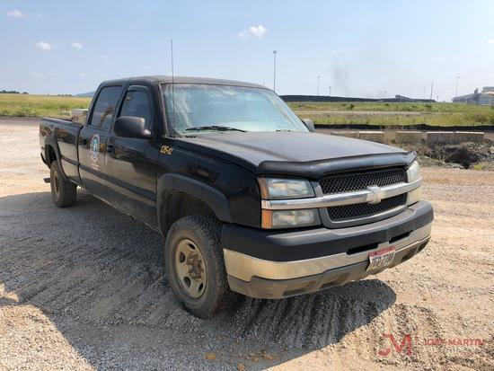 2003...CHEVROLET 2500HD CREW CAB PICKUP