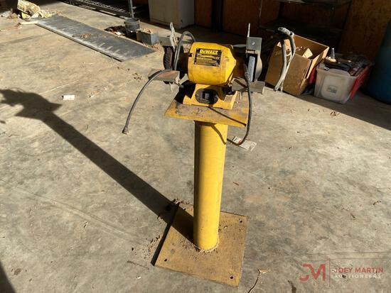 "DEWALT 6"" BENCH GRINDER WITH STAND"