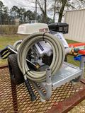 NEW SIMPSON PORTABLE PRESSURE WASHER, 3600 PSI, GAS ENGINE, HOSE, WAND