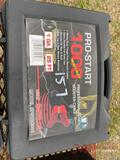 NEW PRO START 1000 JUMPER CABLES, 1 GA, 25'