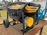 NEW POWERTRAIN 3500W PORTABLE GENERATOR, 7HP GAS ENGINE, 120V