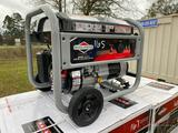 NEW BRIGGS AND STRATTON 3500W PORTABLE GENERATOR, 208CC, BRIGGS GAS ENGINE, 30AMP, 120V