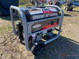 NEW BRIGGS&STRATTON 3500W PORTABLE GENERATOR, BRIGGS GAS ENGINE, 30AMP, 120V